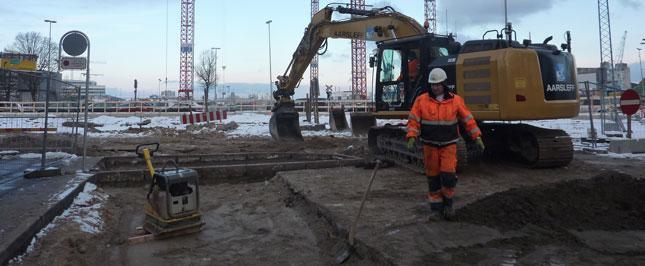 Billeder af byggeriet