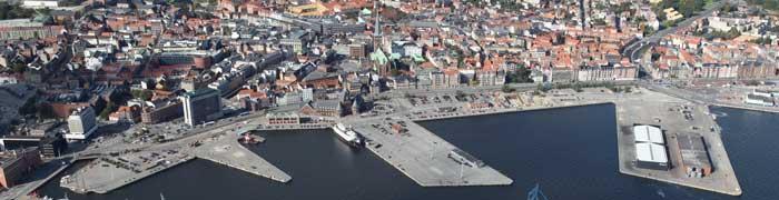 Projektområdet for Urban Mediaspace Aarhus